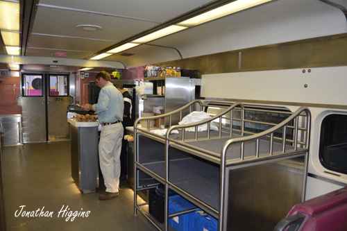 The Concession Counter on CapeFlyer Coach