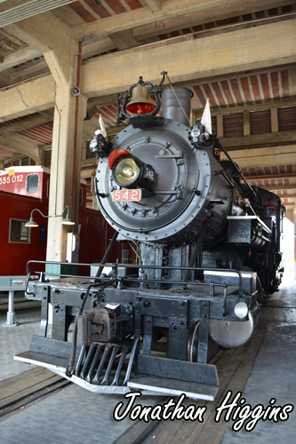Southern Railway #542 2-8-0 Locomotive built in 1903 by the Baldwin Locomotive Works.
