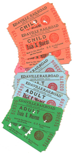 Edaville Railroad Tickets