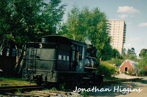 Engine No. 3 at Maine Narrow Gauge Railroad and Museum - Portland, ME (Taken Late 1990's)