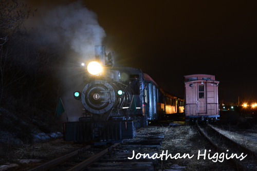 Another Shot of Engine No. 4 at night