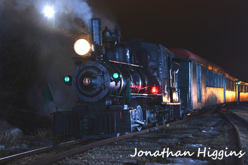 Engine No 4  at night