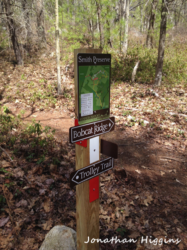 Smith Preserve Trail Marker