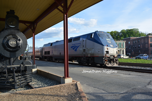Amtrak Vermonter at White River Junction