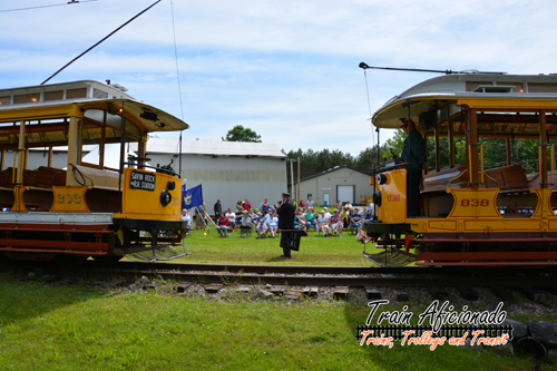 Seashore Trolley Museum 75th