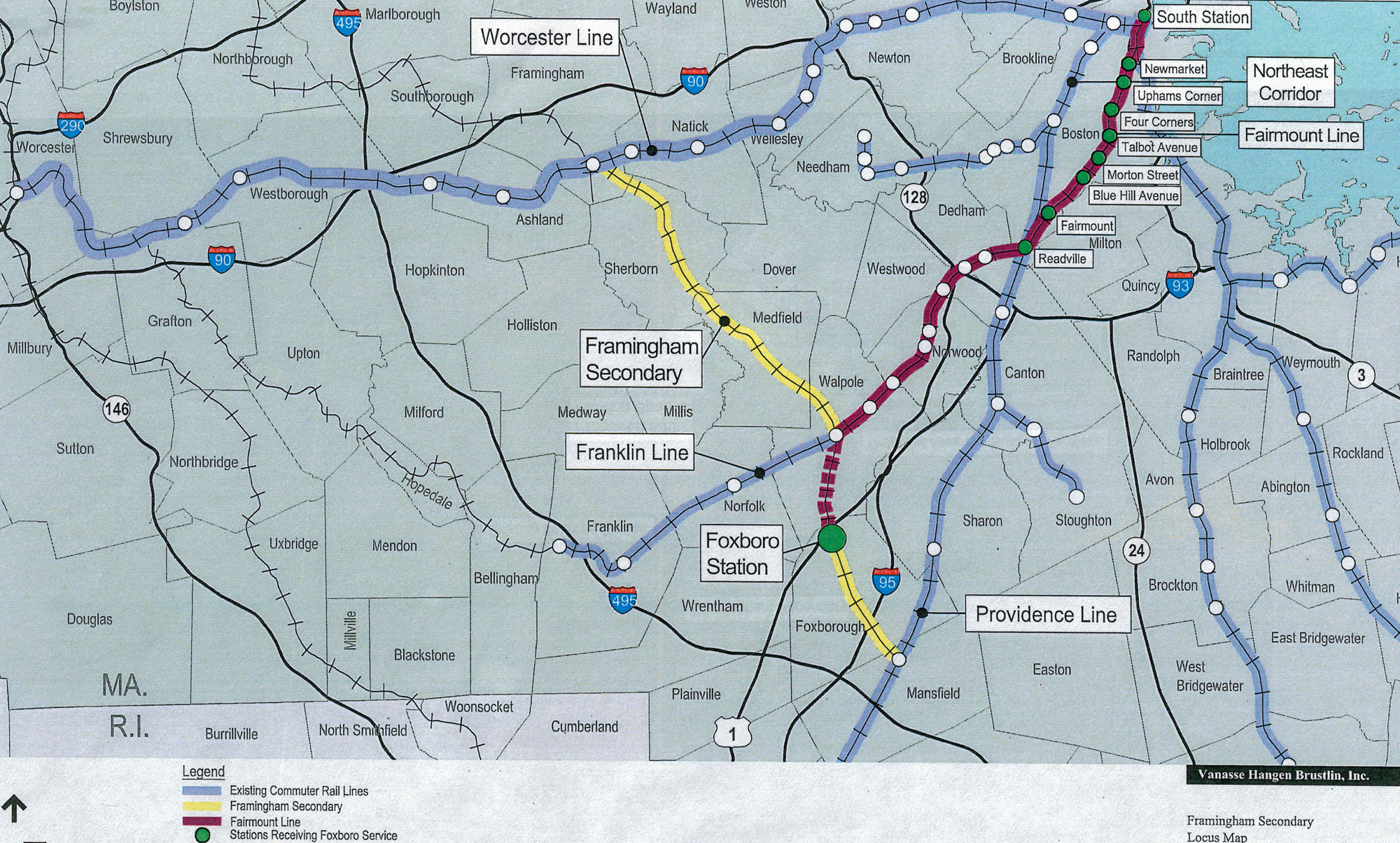Proposal for a MBTA Station in Foxboro, MA – Train Aficionado