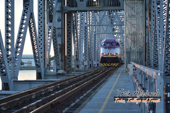 CapeFLYER Crossing the Cape Cod Canal Railroad Bridge