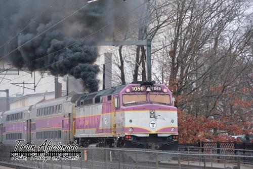 MBTA Train #808 01