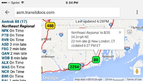 Tracking Amtrak using your Smartphone – Train Aficionado on amtrak train map, amtrak track map, amtrak train routes, amtrak train schedules fares, amtrak on time performance, amtrak missouri map, amtrak route map of west side new york city,
