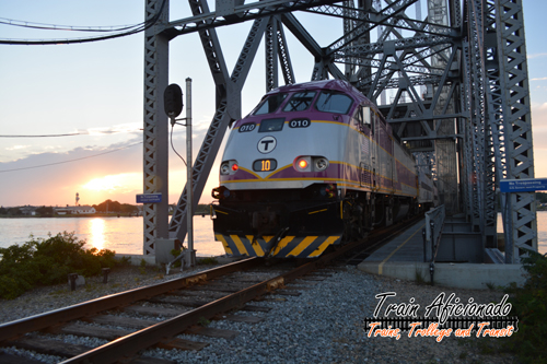 CapeFlyer Crossing the Cape Cod Railroad Bridge