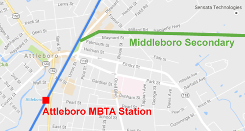 Middleboro Secondary Map