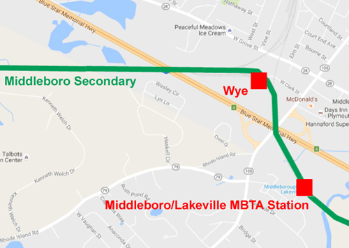 Middleboro wye