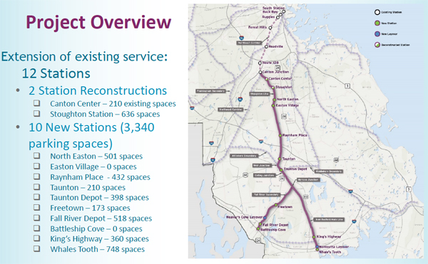 South Coast Rail - Project Overview
