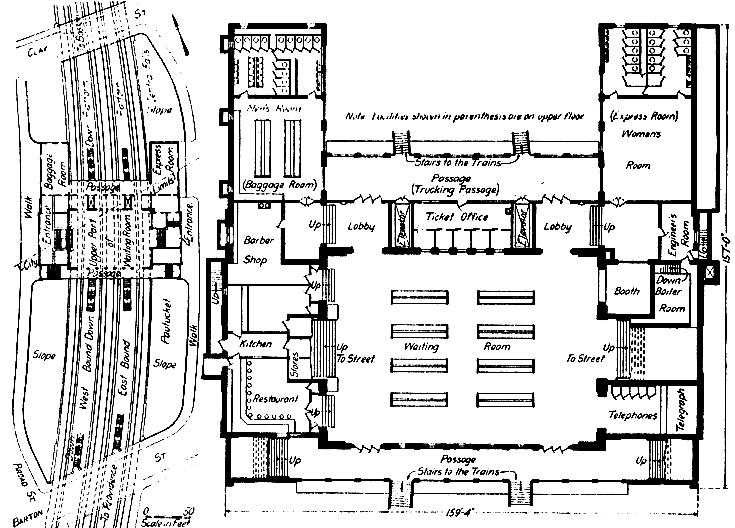 Forgotten Pawtucket-Central Falls Station Floor Plans