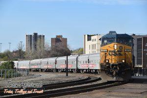 Ringling Bros. Circus Train Heading to Hartford