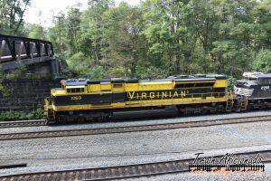 Railfanning Cassandra, PA