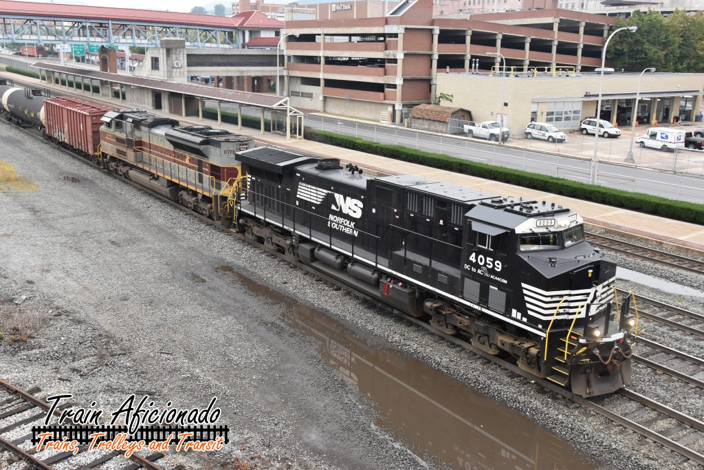 Railfanning Altoona