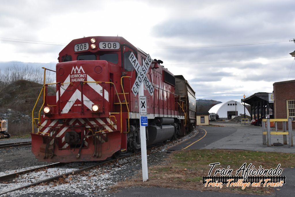 White River Junction Railfanning